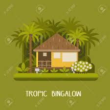 100 Forest House Apartments Summer House In Tropic Jungle Wooden Lodge Among Green Palms