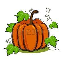 pumpkin vine art