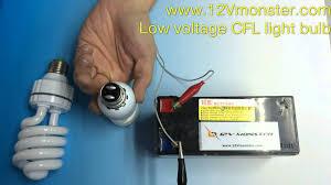 12 volt low voltage compact fluorescent light bulb cfl