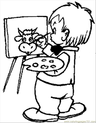 Kids Online Coloring And Painting Kid