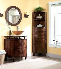 Tall Corner Bathroom Storage Cabinet by Bathroom Corner Cabinet Storagecorner Rotating Bathroom Storage