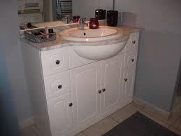 meuble de salle de bain cdiscount collection avec tablette salle