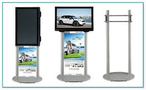 Tv Display Stand For Trade Shows