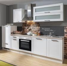 küchenblock einbauküche white premium weiß matt landhaus inkl e geräte geschirrspüler satiniertes glas 280 cm