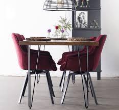 esstisch max 200 x 90 cm haarnadelbeine esszimmertisch tisch