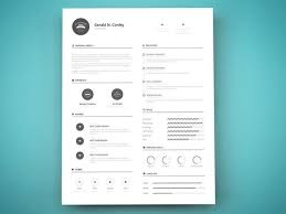 A Clean And Professional Cv Template In Vector Ai File Standard 85x11 Inch Size
