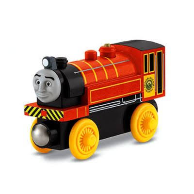 Fisher-Price Thomas the Train Wooden Railway Victor Engine