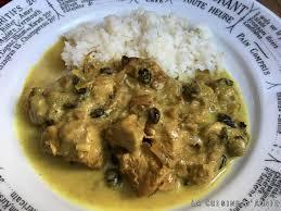cuisine recette poulet recette poulet sauce au lait de coco la cuisine familiale un