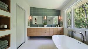 Mid Century Modern Bathroom Tile Ideas - YouTube Small Mid Century Modern Bathroom Elegant Inspired 37 Amazing Midcentury Modern Bathrooms To Soak Your Nses Design Vanity Hd Shower Doors And Paint In Remodel Floor Tile Best Of Ideas For Best Mid Century Bathroom Style Project Sewn With Metro Curtain 74 Most Magic Transform On Interior