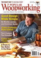 2010 issues of popular woodworking magazine