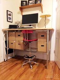 Stand Up Desk Conversion Kit Ikea by 37 Diy Standing Desks Built With Pipe And Kee Klamp Simplified