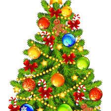 OLD FASHIONED CHRISTMAS TREE LIGHTING
