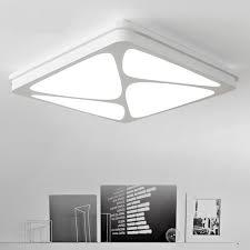 le bureau led moderne bureau éclairage carré led plafond lumière dans le salon