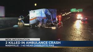 100 Nashville Truck Accident Lawyer Police Weather And Speed To Blame In Double Fatal Ambulance Crash