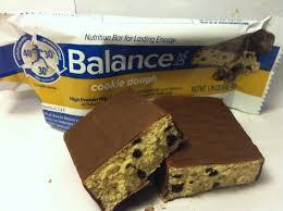Review Balance Bar Cookie Dough