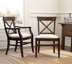 Aarons Dining Room Tables by Aaron Upholstered Chair Pottery Barn