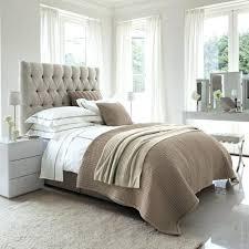 chambre avec tete de lit capitonn tete de lit rembourree lit tete de lit capitonnee chambre