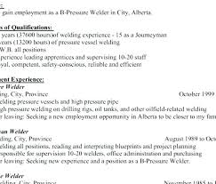 Welding Resume Examples Welder Sample Stunning For Objective