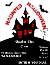 Free Halloween Flyer Templates by Halloween Flyer Template For Inkscape And Microsoft Publisher