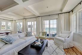 Rug Living room Coastal living room Coastal living room with