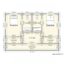 plan dressing chambre awesome plan de salle de bain 2 premier etage 2 chambres