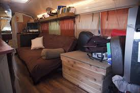 Van Conversion Living On The Road Converted Budget As Free Camping
