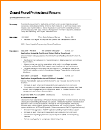 How To Write A Good Summary For A Resume - Ryan.toeriverstorytelling.org