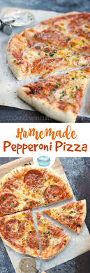 Homemade Pepperoni Pizza Is A Family Favorite And Easy Enough For The Kids To Make