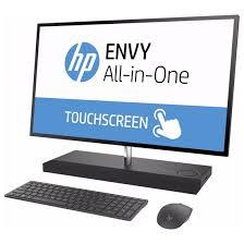 ordinateur de bureau tactile tout en un pc de bureau tout en un hp envy 27 b101nk tactile i7 7è gén 8 go