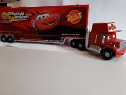 DISNEY CARS LARGE 'MACK' HAULER TRUCK CARRY CASE WITH SOUNDS | In ... Cars 2 Mack And Wally Hauler Exclusive Semi Trucks Disney Pixar Truck Paulmartstore Buy Disneypixar Large Scale Online At Low Toys In India 2013 Deluxe Mattel Diecast 3 Mack Truck With Trailer Jada 124 Walmart Exclusve Ebay World Of Prsentation Du Personnage Mac Rusteze Lightning Mcqueen Carry Case Big 24 Diecasts Tomica Semi Cab Bachelor Pad Playset Transporter Diecast Vehicle 155