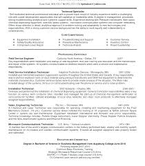 Sample Resume For Medical Laboratory Technician Lab Example