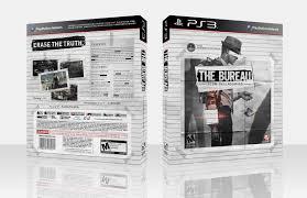 the bureau ps3 the bureau xcom declassified playstation 3 box cover by white wolf