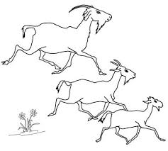 Click To See Printable Version Of Elder Middle And The Youngest Billy Goats Coloring Page