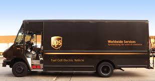 Meet The UPS Class 6 Fuel Cell Truck With A 45-kWh Battery