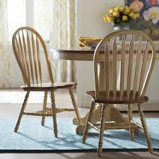 Alcott Hill Clyde Arrow Back Solid Wood Dining Chair