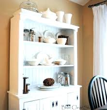 Unfinished Corner Cabinet Dining Room Small Hutch China Cabinets And Furniture Depict On