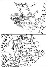 Coloring Page Bike Safety