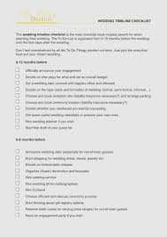 Wedding Day Checklist Printable Unique 10 Best Of Timeline