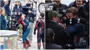 Avengers Stars Robert Downey Jr Chris Evans Mark Ruffalo And Paul Rudd Were Seen On The Sets Of Their Upcoming Film