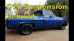 87 Chevy C10 Front Suspension