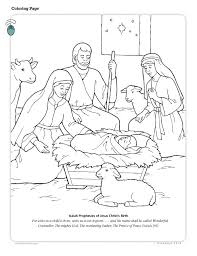 Lesson 46 Jesus Christ Is The Greatest Gift Christmas Primary 2 Nativity Coloring PagesChristmas