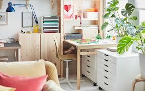arbeitsecke einrichten ohne separates bürozimmer ikea