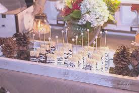 Wedding Dessert Table Outdoor Elegant Sweet 16 Backyard Bonfire Diy Marquee Light
