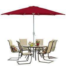 Patio Umbrellas Walmart Usa by Bcp 9 U0027 Aluminum Patio Market Umbrella Tilt W Crank Outdoor
