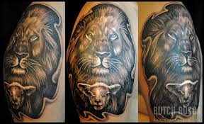 Great Lion Tattoo For Men