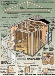 12x16 shed plans gable design pdf download free storage and