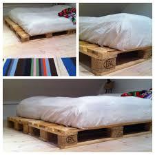 Pallet Bed Frame by Fia Lotta Jansson Diy Pallet Bed