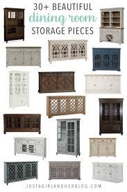 30 Beautiful Dining Room Storage Pieces