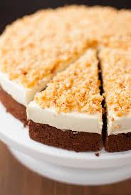 sägespäne torte mit selbstgemachter creme
