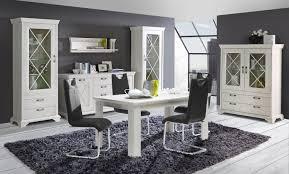 wunderschöner esstisch in weiß jakob 160x90 ausziehbar in